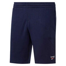 Reebok Classics Mens Vector Shorts Navy S, Navy, rebel_hi-res