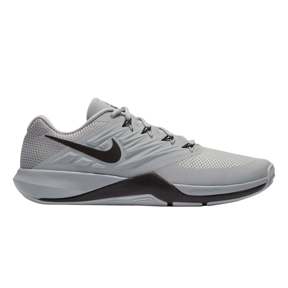Nike Lunar Prime Iron II Mens Training Shoes Grey Black US 10