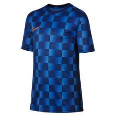 Nike Boys  Dri-FIT Academy Football Top Blue XS, Blue, rebel_hi-res