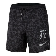 Nike Mens Flex Stride Wild Run 7in Running Shorts Black XS, Black, rebel_hi-res