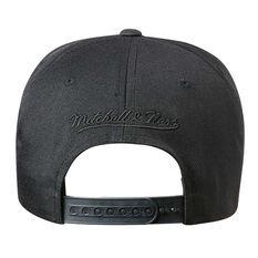 LA Lakers Black On Black 110 Pinch Cap, , rebel_hi-res