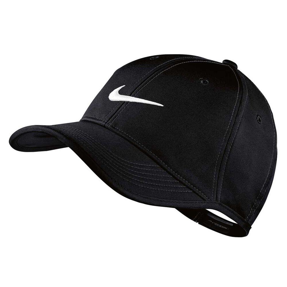 Nike Ultralight Contrast Cap Black   White  2b400246b
