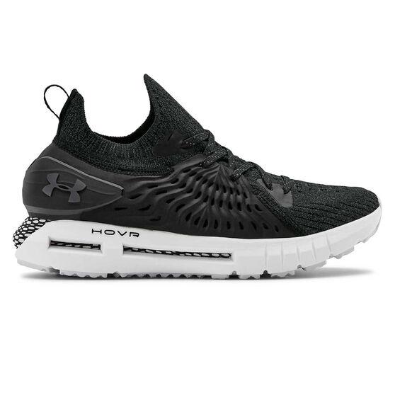 Under Armour HOVR Phantom RN Womens Running Shoes, Black / Grey, rebel_hi-res