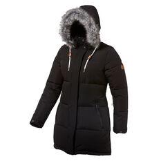 Tahwalhi Womens Cloud 9 Ski Jacket Black 8, Black, rebel_hi-res