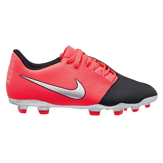 Nike Phantom Venom Club Kids Football Boots, Black / Red, rebel_hi-res