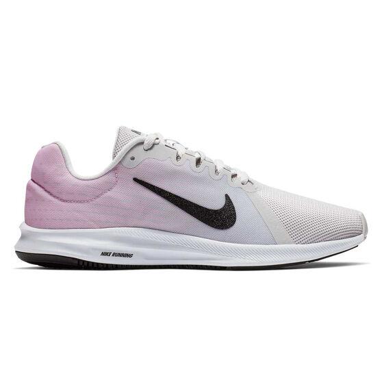 8fe517f67f43a Nike Downshifter 8 Womens Running Shoes, Black / Grey, rebel_hi-res