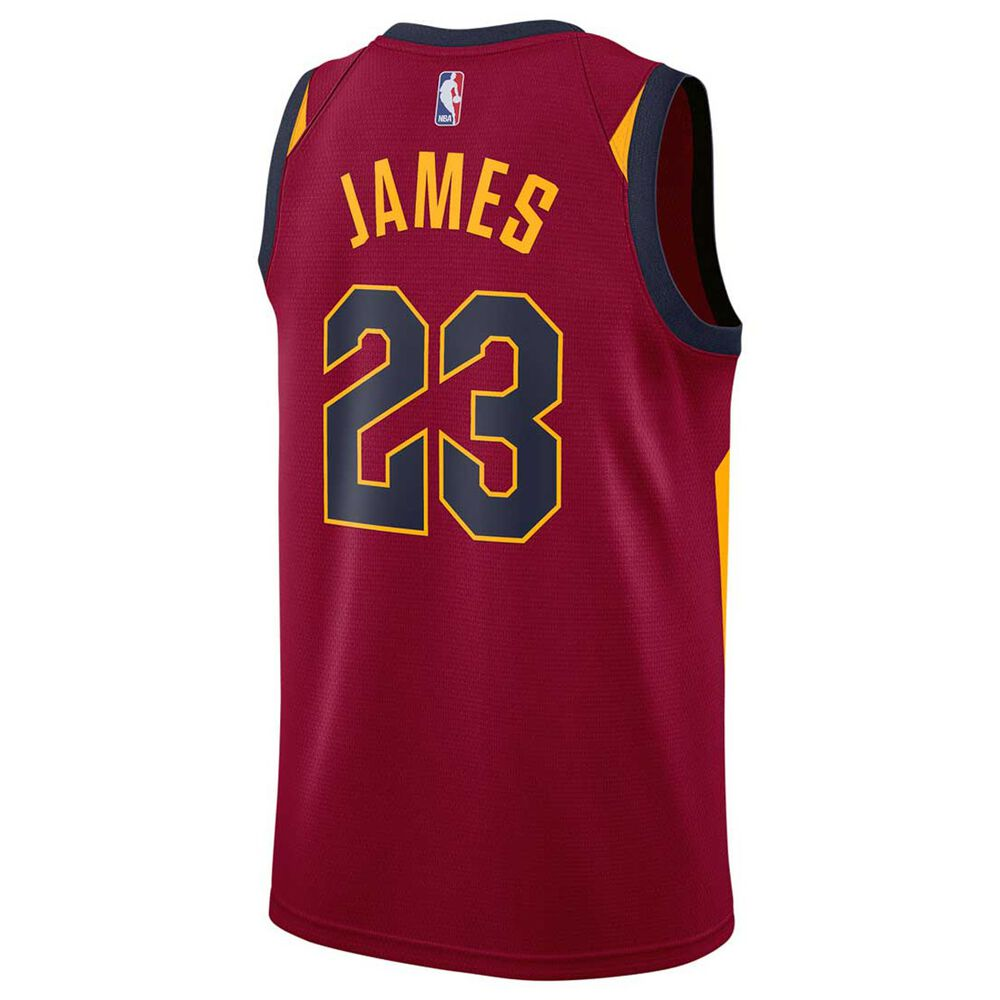d3972b444320 Nike Mens Cleveland Cavaliers LeBron James 2018 Swingman Jersey Team Red S,  Team Red,