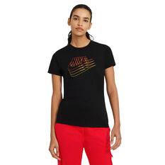Nike Womens Sportswear Tee Black XS, Black, rebel_hi-res
