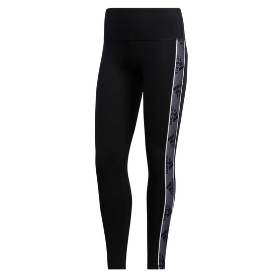 adidas Womens Changeover Tights, Black, rebel_hi-res