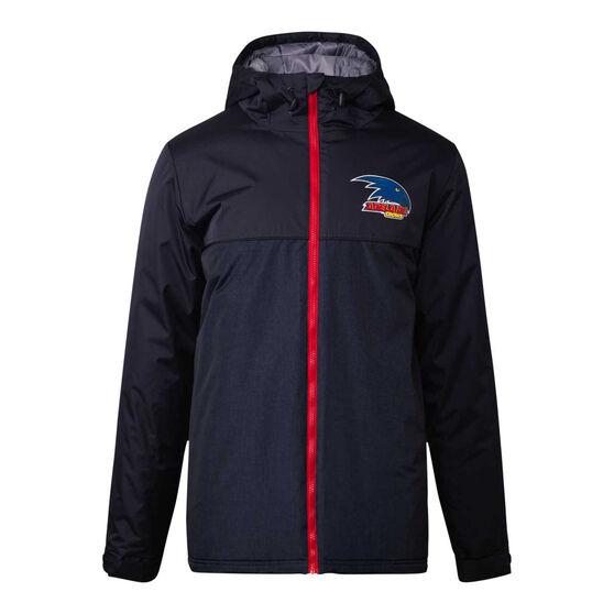 Adelaide Crows 2021 Mens Retro Stadium Jacket, Black, rebel_hi-res