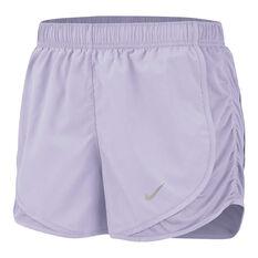 Nike Womens Tempo Running Shorts Purple XS, Purple, rebel_hi-res