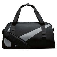 Nike Youth Gym Club Duffel Bag Black / Grey, , rebel_hi-res