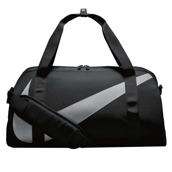 Nike Youth Gym Club Duffel Bag Black / Grey, , rebel_hi-res