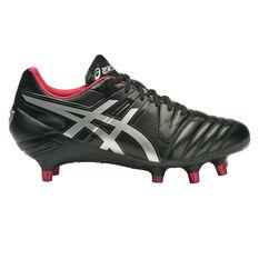 Asics Gel Lethal Tight Five Mens Football Boots Black / Silver US 11, Black / Silver, rebel_hi-res