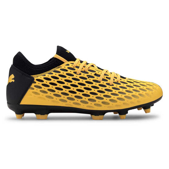 Puma Future 5.4 Football Boots, Yellow / Black, rebel_hi-res