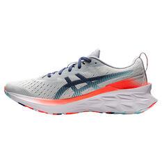 Asics Novablast 2 Celebration of Sport Mens Running Shoes Grey/Blue US 7, Grey/Blue, rebel_hi-res