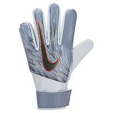 Nike Kids GK Match Goalkeeper Gloves Navy / Silver 4, Navy / Silver, rebel_hi-res