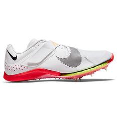 Nike Air Zoom Long Jump Elite Track Shoes White/Black US 4, White/Black, rebel_hi-res