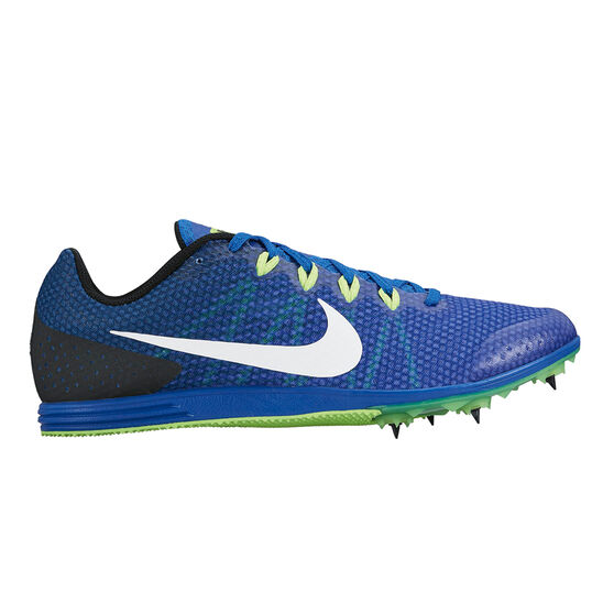 Nike Zoom Rival D 9 Mens Track and Field Shoes, Blue / White, rebel_hi-res