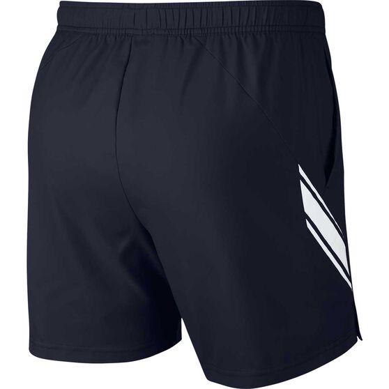 Nike Mens NikeCourt Dri-FIT Tennis Shorts, Black, rebel_hi-res