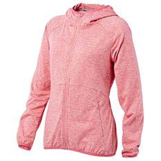 Tahwalhi Womens Glide Full Zip Hoodie Pink 8, Pink, rebel_hi-res