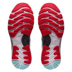 Asics GEL Nimbus 23 Mens Running Shoes, Black/Red, rebel_hi-res