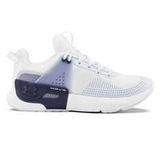 Under Armour HOVR Apex Womens Training Shoes White / Grey US 7, White / Grey, rebel_hi-res