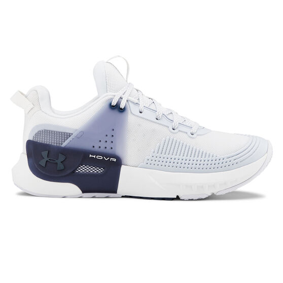 Under Armour HOVR Apex Womens Training Shoes, White / Grey, rebel_hi-res