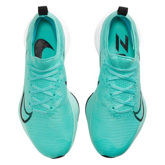 Nike Air Zoom Tempo Next% Womens Running Shoes, Blue/Black, rebel_hi-res