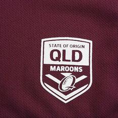 QLD Maroons State of Origin 2020 Mens Training Tee, Maroon, rebel_hi-res