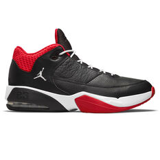 Jordan Max Aura 3 Basketball Shoes Black US 7, Black, rebel_hi-res