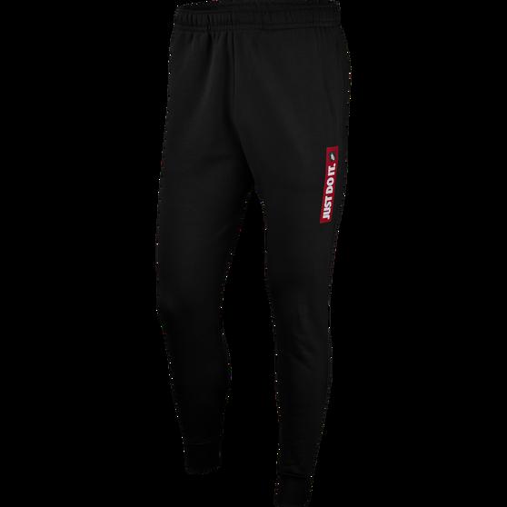 Nike Mens Sportswear JDI Fleece Pants, Black, rebel_hi-res