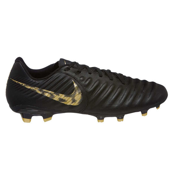 Nike Tiempo Legend VII Academy Mens Football Boots Black / Gold US Mens 7 / Womens 8.5, Black / Gold, rebel_hi-res