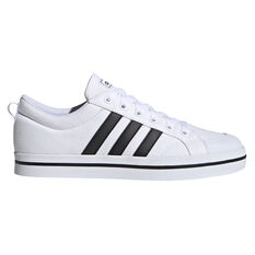 adidas Bravada Mens Casual Shoes White/Black US 7, White/Black, rebel_hi-res