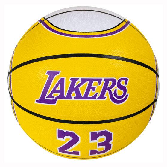 Spalding NBA LeBron James Jersey Basketball, , rebel_hi-res