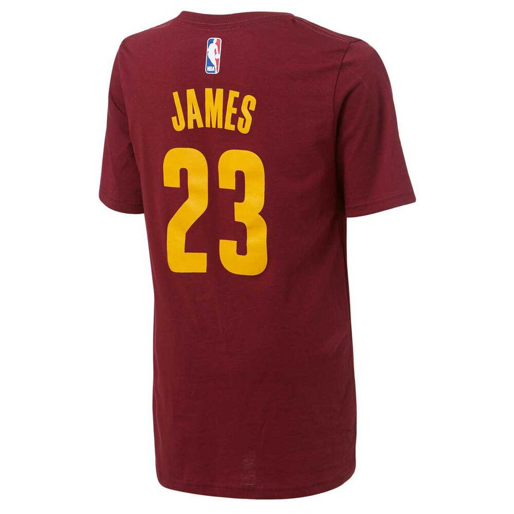 pretty nice f26e2 83e89 Outerstuff Kids Cleveland Cavaliers LeBron James Jersey Tee S