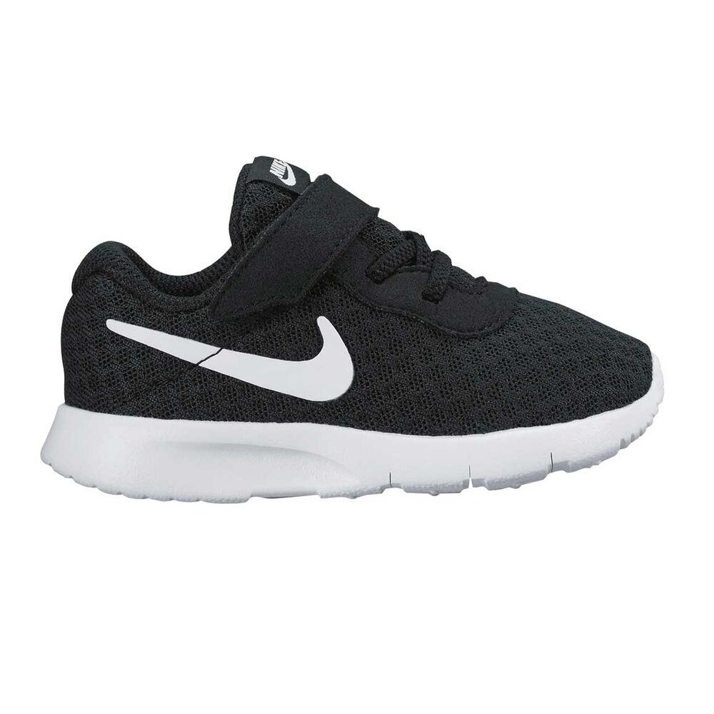 1168c33fac945 Nike Tanjun Toddlers Shoes Black   White US 9