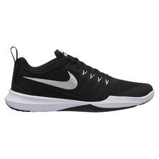 Nike Legend Trainer Mens Training Shoes Black / Silver US 7, Black / Silver, rebel_hi-res