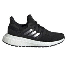 adidas Ultraboost 20 Kids Running Shoes Black/White US 11, Black/White, rebel_hi-res