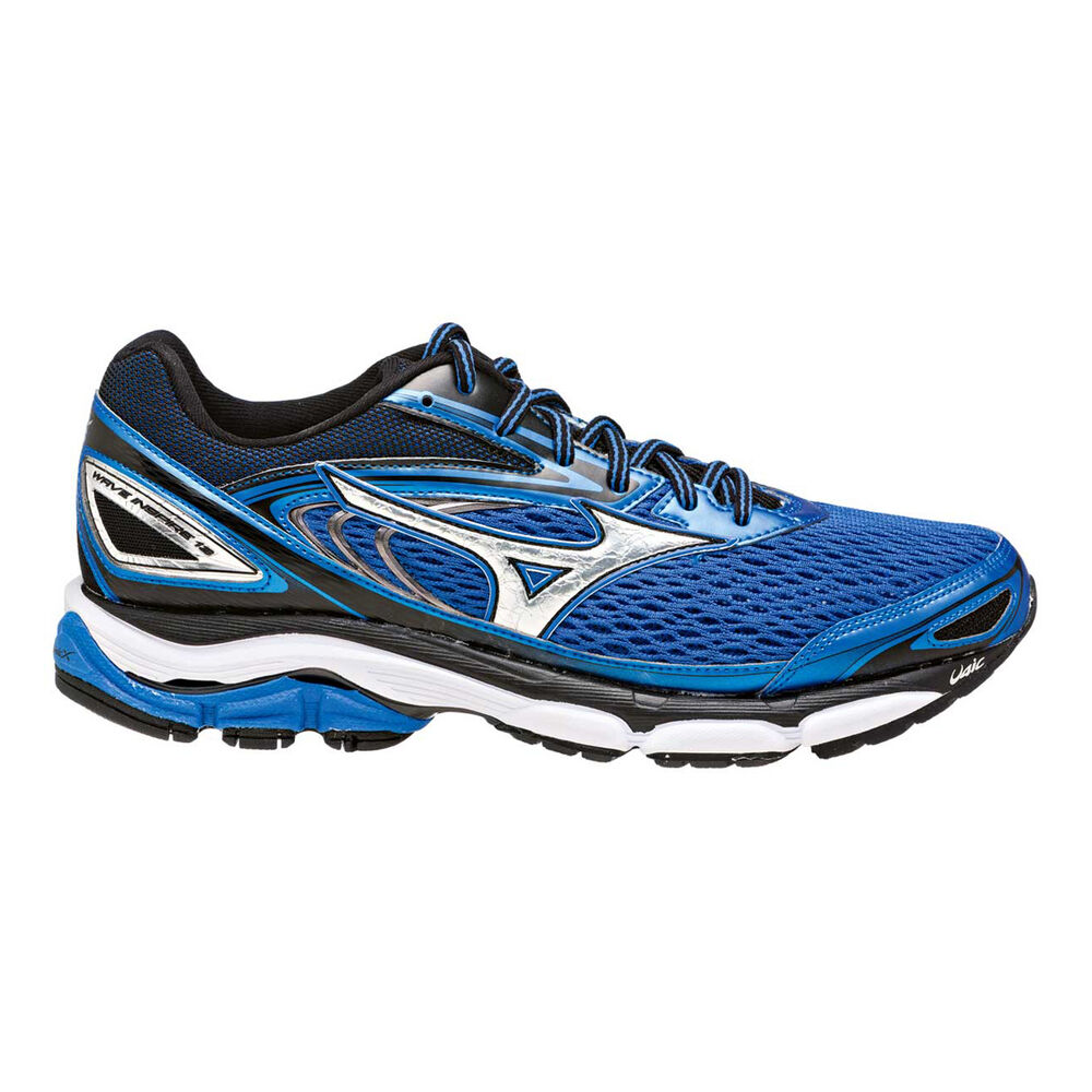 a53e2a432387 Mizuno Wave Inspire 13 Mens Running Shoes Blue   Silver US 8