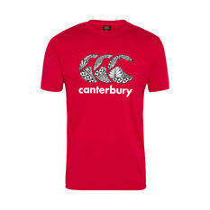 Canterbury Tonga 2019 Mens Themed Tee Red S, Red, rebel_hi-res