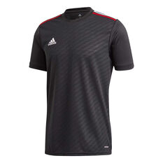 adidas Mens Tiro Jersey Black XS, Black, rebel_hi-res