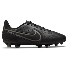 Nike Tiempo Legend 9 Club Kids Football Boots Black/Grey US 1, Black/Grey, rebel_hi-res