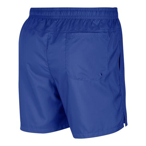 Nike Sportswear Mens Woven Flow Shorts, Blue, rebel_hi-res