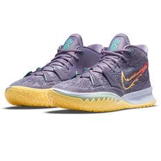 Nike Kyrie 7 Basketball Shoes Purple US 10, Purple, rebel_hi-res