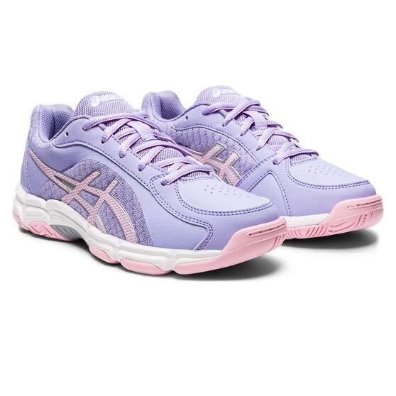 Asics GEL Netburner Super Kids Netball Shoes, Lilac, rebel_hi-res