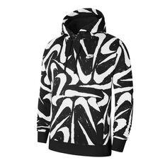 Nike Mens Sportswear Club Pullover Hoodie Black XS, Black, rebel_hi-res