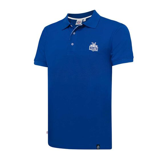 North Melbourne Kangaroos Mens Polo Shirt, , rebel_hi-res