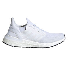 adidas Ultraboost 20 Womens Running Shoes White / Grey US 6, White / Grey, rebel_hi-res
