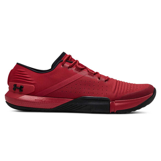 Under Armour Tribase Reign Mens Training Shoes, Red / Black, rebel_hi-res